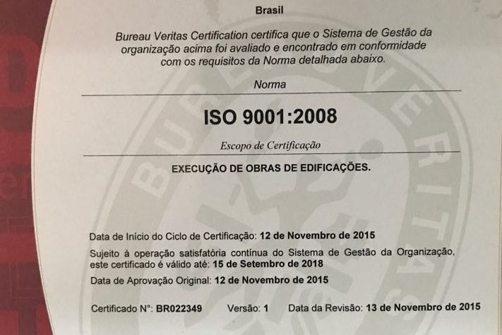 ISO 9001!